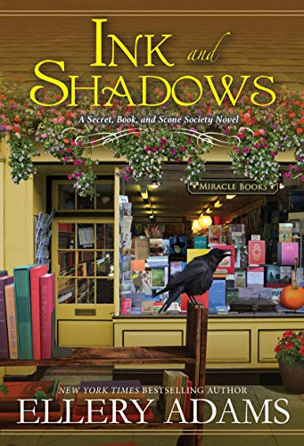 Ink and Shadows: A Witty & Page-Turning Southern Cozy Mystery (A Secret, Book, and Scone Society Novel Book 4) by [Ellery Adams]