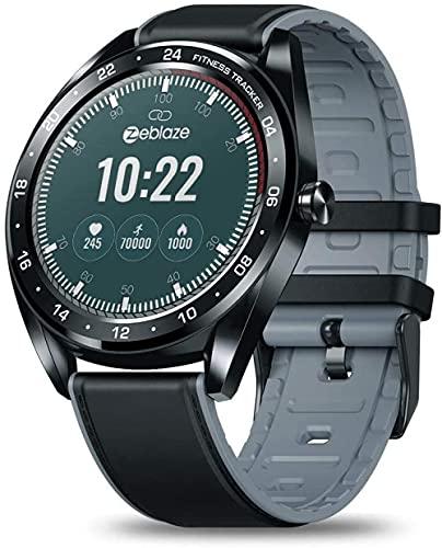 Reloj Inteligente Color Pantalla Táctil Smartwatch Salud Femenina Cuenta Regresiva Llamada Rechazo-Negro
