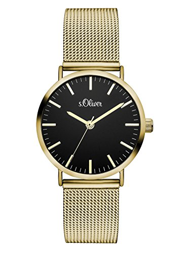 s.Oliver Time Damen-Armbanduhr SO-3329-MQ