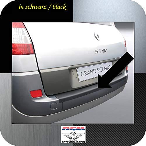 Richard Grant Mouldings Ltd. RGM Protection de seuil de chargement pour Renault Grand Scénic II Van Break 5 portes 04.2004-03.2009 RBP383 Noir