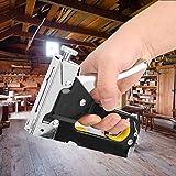 Pistola de grapas Pistola de clavos manual de alta resistencia para material de fijación, Pistola de grapadora de clavos neumática de decoración