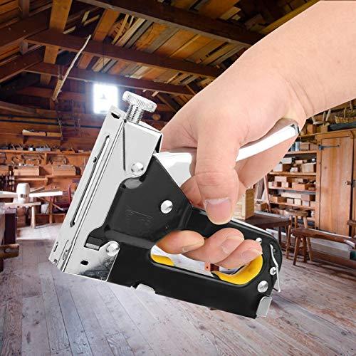 Manuelle Nagelpistole Tacker Hochleistungs für Polster, Heimwerker, Möbel, Material Pneumatischer Rahmen Nagler