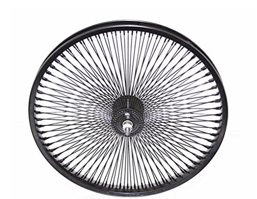 Lowrider 20' 144 Spoke Front Wheel 14G Black.