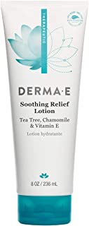 DERMA E Soothing Relief Lotion, Dry Skin Moisturizer, 8 oz