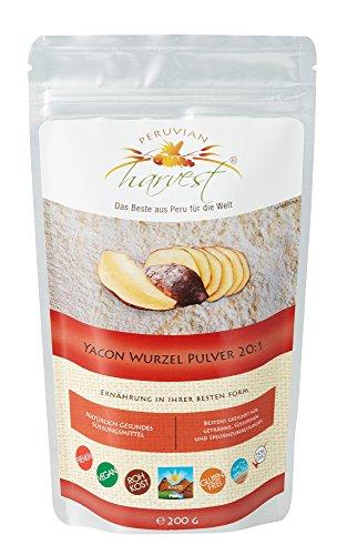 UHTCO Peruvian Harvest Yacon-Pulver 200 g | Das Beste aus Peru für die Welt