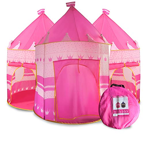 Extra $8 off Princess Castle Play Tent for Kids Clip the Extra $8 off Coupon & add lightning deal price