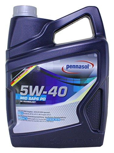 Pennasol Mid Saps Pd SAE 5W-40 Motoröl, 5 Liter