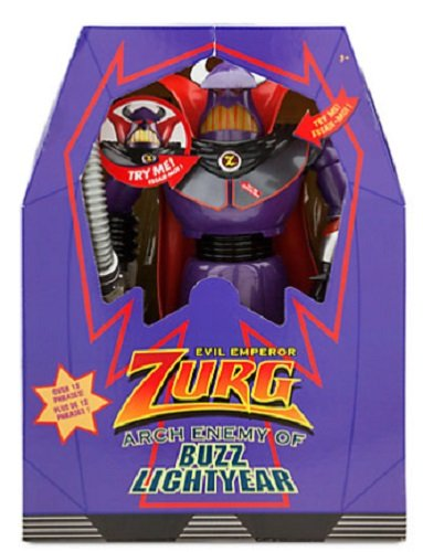 Disney PERSONAGGIO SNODABILE PARLANTE ZURG TOY STORY NEW