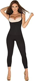 Shapewear Full Body Shaper Open-Bust Capri Faja Pescador Bodysuit