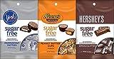 Hershey's Sugar Free Bundle of Reese's, York, and Hershey Chocolate 3 Ounce Bag (3 Pack) by Hershey's