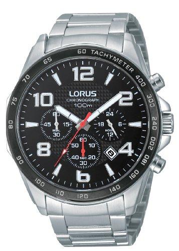 Lorus Reloj Analógico de Cuarzo para Hombre con Correa de Acero Inoxidable – RT351CX9