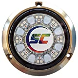 Shadow-Caster SCR-24 Bronze Underwater Light - 24 LEDs - Full Color Changing