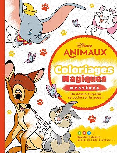Coloriage magique mystère animaux Disney