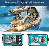 Zoom IMG-1 4yang fotocamera subacquea doppio schermo