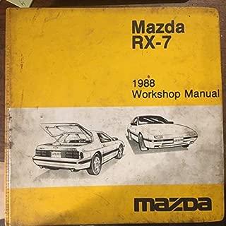 MAZDA RX-7 1988 Workshop Manual