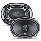 CT Sounds BIO-6X9-COX 6x9 Inch Coaxial Car Speakers, 200 Watts Max, Pair