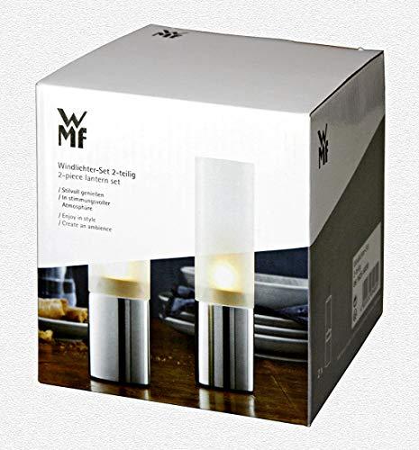 WMF Windlichter-Set, 2-teilig, 19 cm