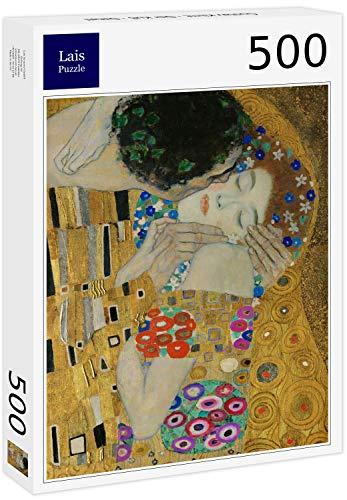 Puzzle Gustav Klimt   El Beso   Detalle 500 Piezas