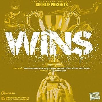Wins (feat. 55Bagz, M.A.R., Erreon, Camp Zero, Cash Daniel, Stromile & Bino)