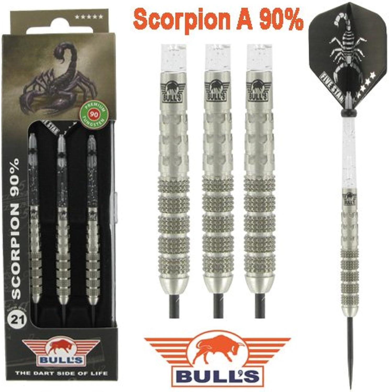 PerfectDarts 21g Bulls Scorpion A Heavy Knurl Knurl Knurl Tungsten Darts Set B00RD7HA2E  Verwendet in der Haltbarkeit ebca9d