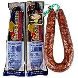 Chorizo Dulce Ezequiel - Morcilla de Burgos Sotopalacios - Lote 1 Chorizo de León + 2 Morcillas de Sotopalacios - Peso Aproximado Chorizo 425 gramos, Morcillas 280 gramos unidad