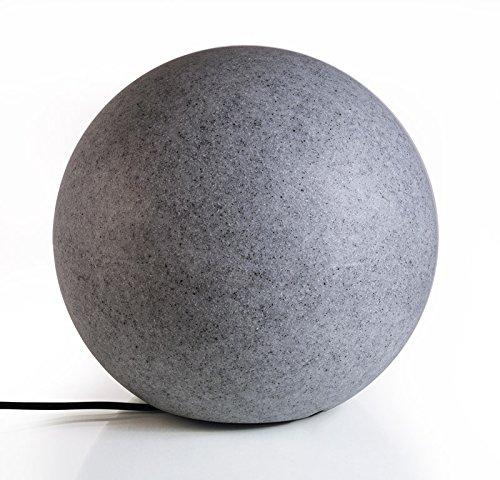 Deko-Light Dekorative Leuchte, Kugel Granit II, 220-240 V, AC/50-60 Hz, E27, 42 W 836935