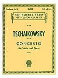 Tchaikovsky: Violin Concerto Op.35 (Violin/Piano). Partituras para Violín, Acompañamiento de Piano