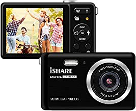 HD Digital Camera, Rechargeable Mini Digital Camera Camera with 2.8