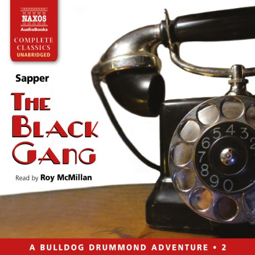 The Black Gang audiobook cover art