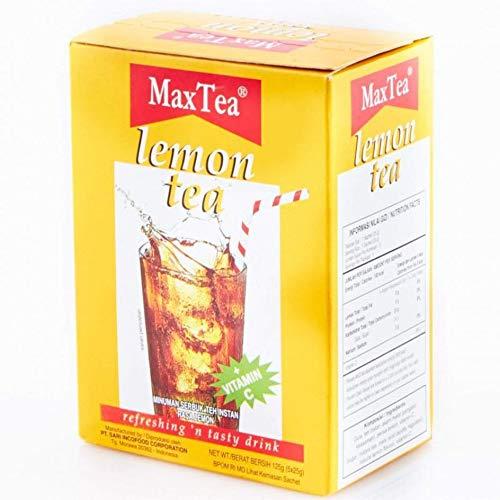 Max Tea Teh Lemon 5-ct Bargain Pack Gram 3 125 Milwaukee Mall of