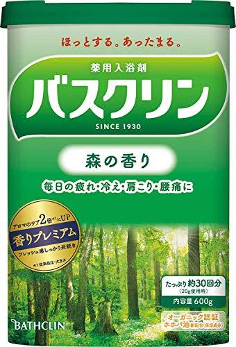 バスクリン 森の香り 600g