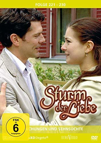 Sturm der Liebe 23 - Folge 221-230: Versuchungen und Sehnsüchte (3 DVDs)