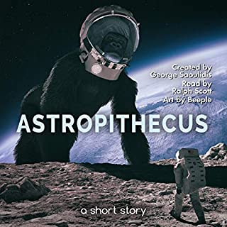 Astropithecus audiobook cover art
