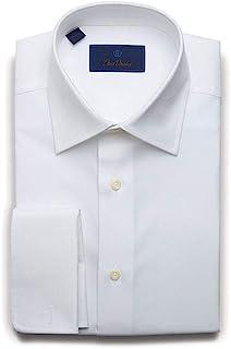 Regular Fit Micro Birdseye Dress Shirt w/French Cuffs