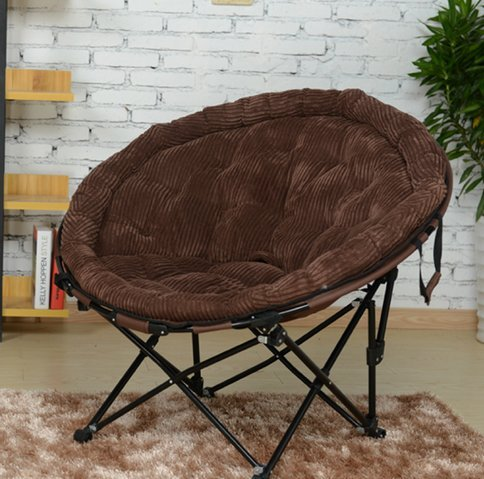Canapé fauteuil plastique einzelne créative pliage Lässig Canapé-lit Chaise simple petit canapé tatami Chaises Tabouret le déjeuner Pause Lit Ordinateur Chaise