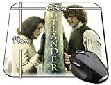 Outlander Sam Heughan Caitriona Balfe F Alfombrilla Mousepad PC