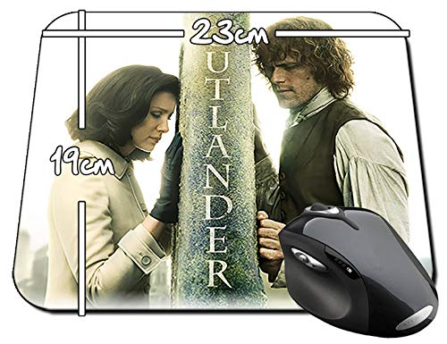 Outlander Sam Heughan Caitriona Balfe F Alfombrilla Mousepad PC