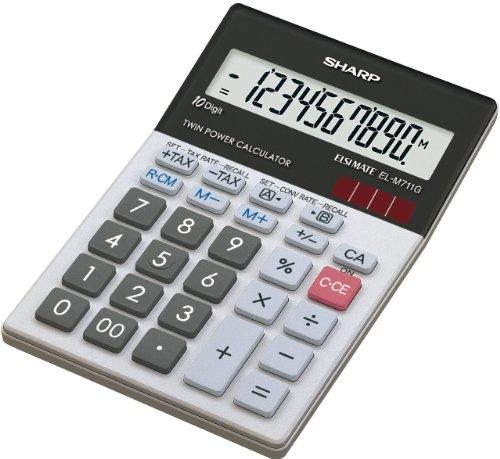 Sharp EL-M711 G Tischrechner (10...