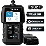 Best Obd2 Scanners - OBD2 Scanner Code Reader TOPDON AL300, car Auto Review