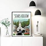 Poster,Bilder,Kunstdrucke,Poster Und Drucke Stars Hollow