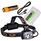 Fenix HP25R 1000 Lumen USB rechargeable CREE LED Headlamp (neutral...