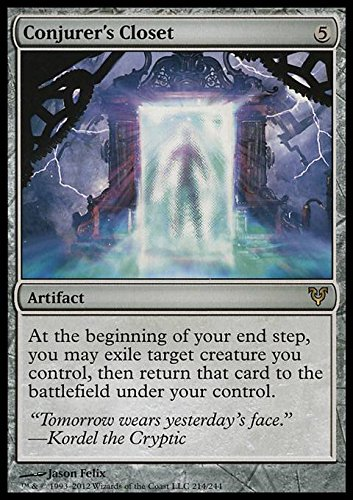 Magic The Gathering - Conjurer39;s Closet (214) - Avacyn Restored - Foil