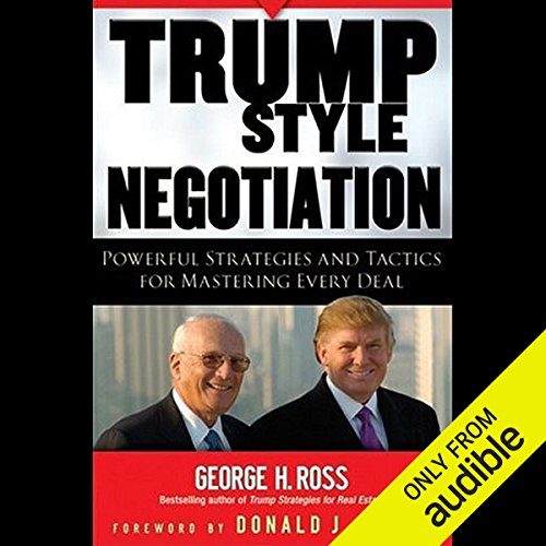 Page de couverture de Trump Style Negotiation