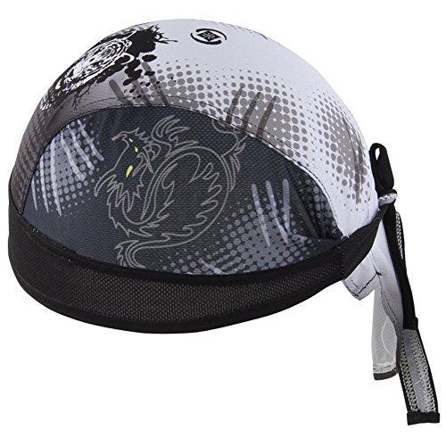 HASAGEI Sports Bandana Cap Herrem Damen Biker Bandanas Kopftuch Hat - Tiger