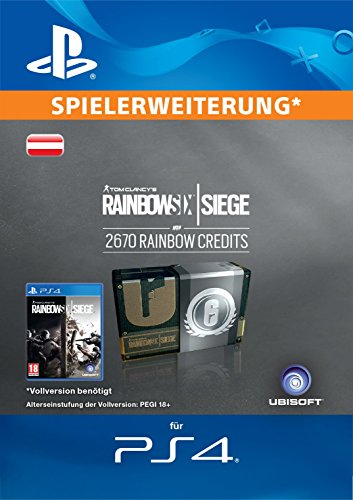 Tom Clancy's Rainbow Six Siege Currency pack 2670 Rainbow credits [PS4 Download Code - österreichisches Konto]