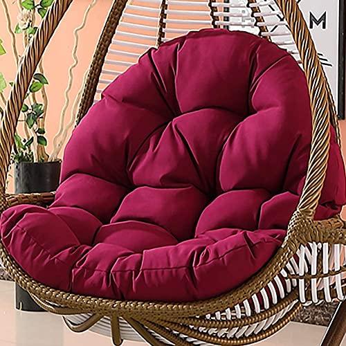 CIN&GO Cojines para sillas de Huevo para Colgar en el jardín, Aumento de Grosor, cojín para Asiento de Hamaca, Columpio, Cesta Colgante, cojín para Silla