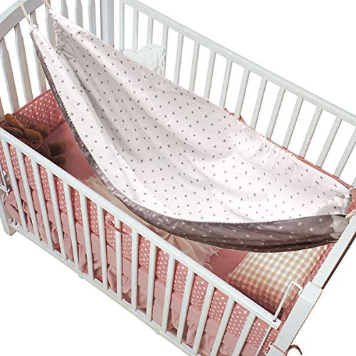 YINUODAY Baby Hammock for Crib, Breathable & Strong Material Cotton Infant Hanging Sleep Crib Accessories Hanging Swing