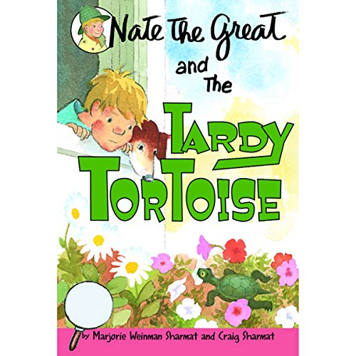 Nate the Great and the Tardy Tortoise audiobook cover art