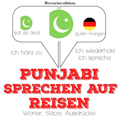 Punjabi sprechen auf Reisen cover art