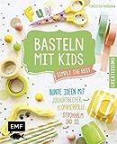 Basteln mit Kids – Simply the Rest: Bunte Ideen mit Joghurtbechern, Klopapierrolle, Strohhalm und Co.. (Creatissimo)